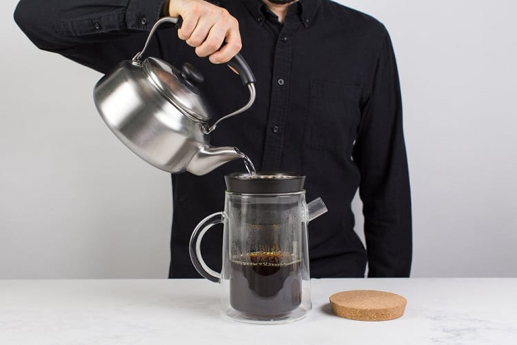 Man Making Coffee Manually